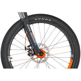"""NS Bikes Clash Junior Børnecykel 24"""" orange/sort"""